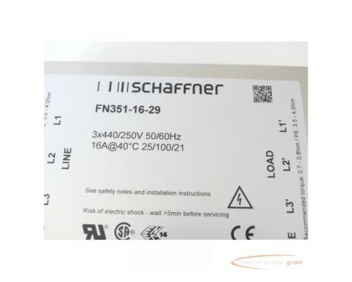 Schaffner FN351-16-29 Spannungsversorgungsleitungsfilter 3x440/250V -unge.!- - Bild 2
