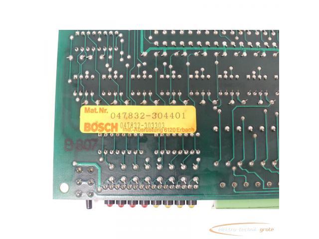 Bosch 047832-304401 / 047832-303303 Optionskarte - 5
