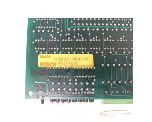 Bosch 047832-304401 / 047832-303303 Optionskarte - Bild 5