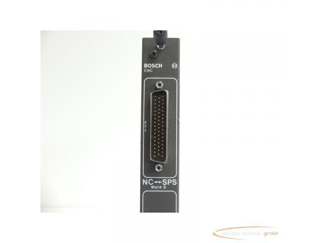 Bosch CNC NC-SPS 056581-105401 Modul + 056687-103401 Optionskarte SN:231412 - 5