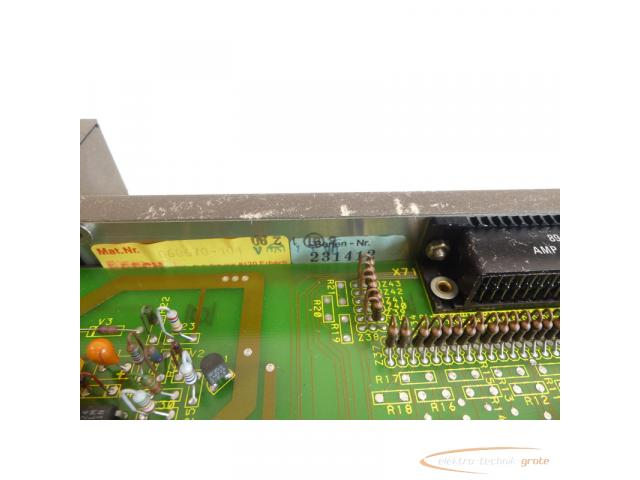 Bosch CNC NC-SPS 056581-105401 Modul + 056687-103401 Optionskarte SN:231412 - 6