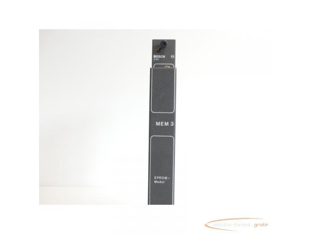 Bosch CNC MEM 3 1070054197-113 EPROM-Modul SN:002556210 - 5