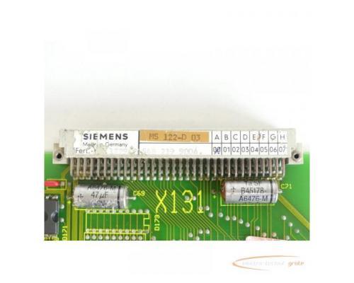 Siemens MS122 / MS 122-D 03 Board SN:1229 - Bild 6