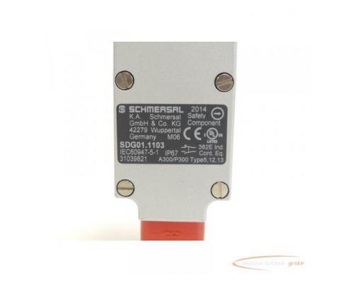 Schmersal SDG01.1103 Sicherheitsschalter mit getrenntem Betätiger - Bild 4