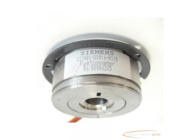 Siemens V23401-U1016-B110 Funktionsgeber SN:R6/00806285 - 4