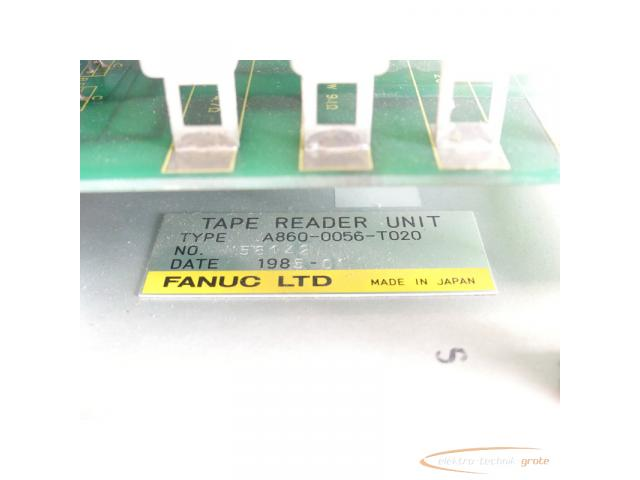 Fanuc A860-0056-T020 Tape Reader Unit SN:N58142 - 4