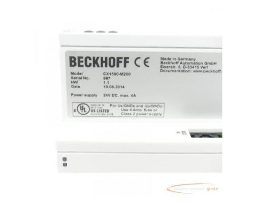 Beckhoff CX1500-M200 Modul Serien Nr. 997 24V DC max. 4A - Bild 2