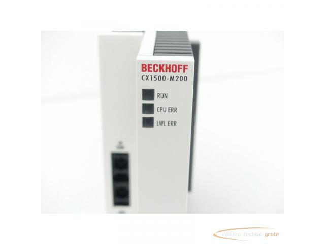 Beckhoff CX1500-M200 Modul Serien Nr. 997 24V DC max. 4A - 3