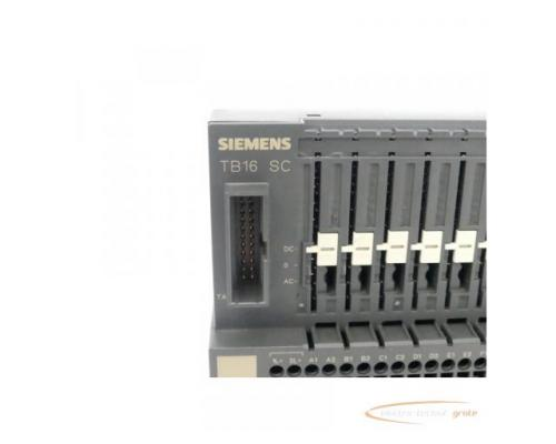Siemens TB16 SC 6ES7120-0AH01-0AA0 Simatic SC Terminalblock - Bild 2