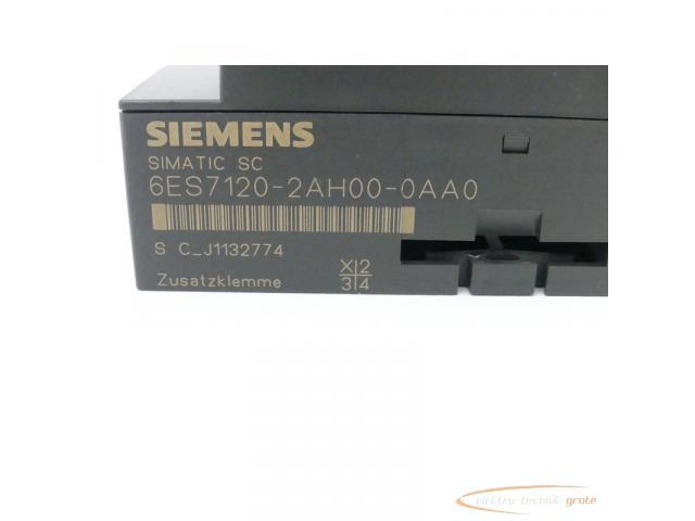 Siemens Simatic SC 6ES7120-2AH00-0AA0 Zusatzklemme - 2