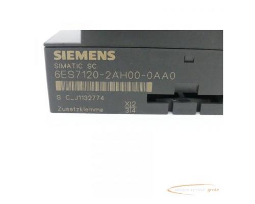 Siemens Simatic SC 6ES7120-2AH00-0AA0 Zusatzklemme - Bild 2