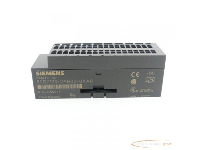Siemens Simatic SC 6ES7120-2AH00-0AA0 Zusatzklemme - 3