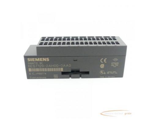 Siemens Simatic SC 6ES7120-2AH00-0AA0 Zusatzklemme - Bild 3