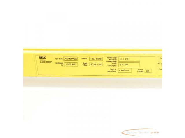 Sick C41S-0601AA300 C4000 Micro Sender Id.Nr. 1 023462 SN:10370943 - 5