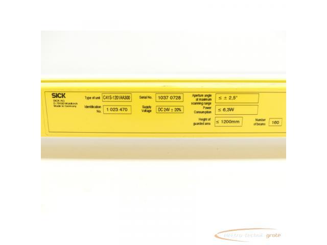 Sick C41S-1201AA300 Sender Id.Nr. 1 023 470 SN:10370728 - 5