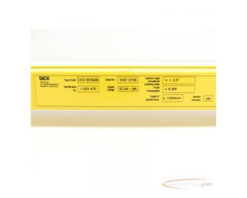 Sick C41S-1201AA300 Sender Id.Nr. 1 023 470 SN:10370728 - Bild 5