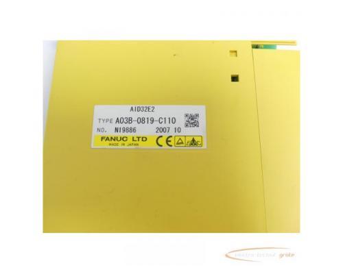 Fanuc A03B-0819-C110 Module AID32E2 No. N19886 - Bild 2