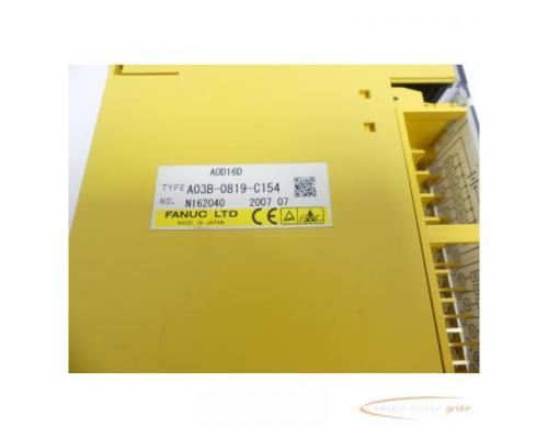 Fanuc A03B-0819-C154 Module A0D16D No. N162040 - Bild 2