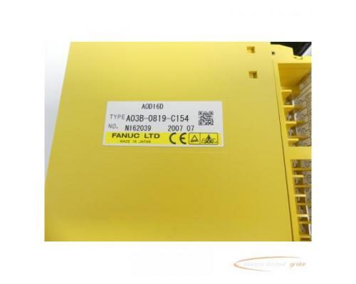 Fanuc A03B-0819-C154 Module A0D16D No. N162039 - Bild 2