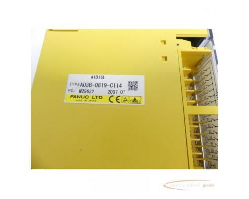 Fanuc A03B-0819-C114 Module AID16L No. N29622 - Bild 2
