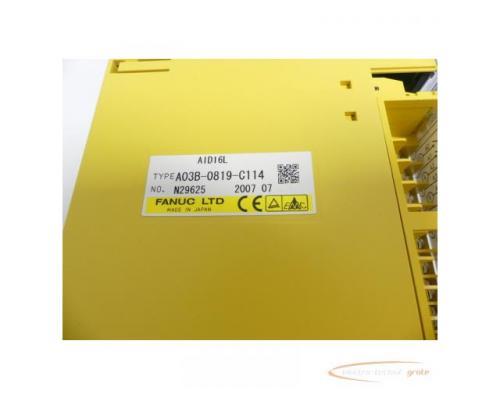 Fanuc A03B-0819-C114 Module AID16L No. N29625 - Bild 2