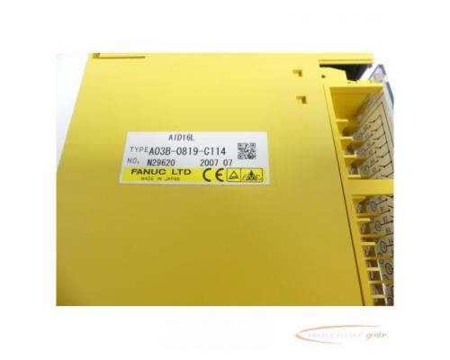 Fanuc A03B-0819-C114 Module AID16L No. N29620 - Bild 2