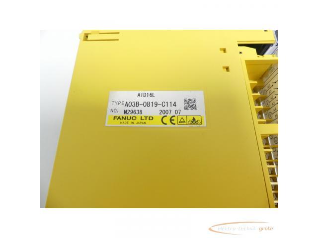 Fanuc A03B-0819-C114 Module AID16L No. N29638 - 2