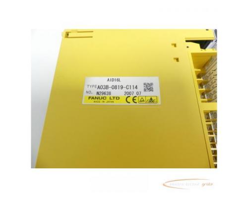 Fanuc A03B-0819-C114 Module AID16L No. N29638 - Bild 2