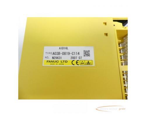 Fanuc A03B-0819-C114 Module AID16L No. N29631 - Bild 2