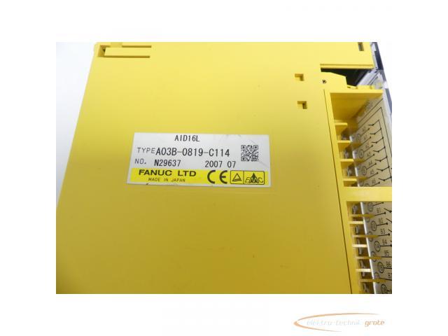Fanuc A03B-0819-C114 Module AID16L No. N29637 - 2
