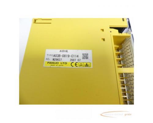 Fanuc A03B-0819-C114 Module AID16L No. N29637 - Bild 2