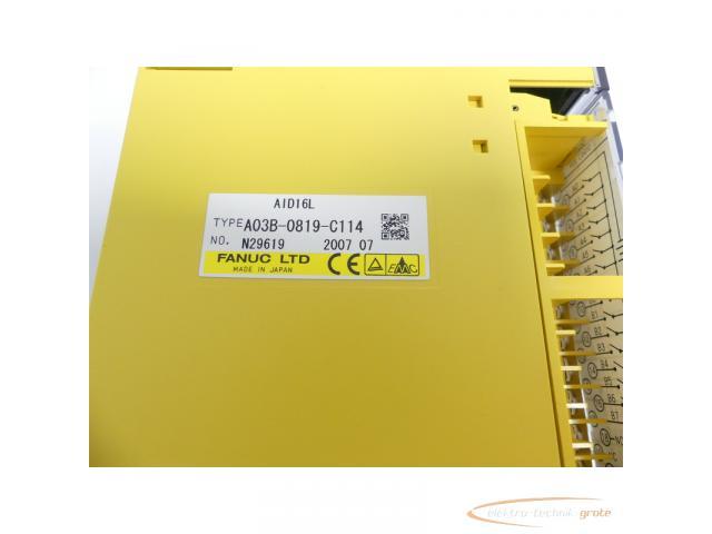 Fanuc A03B-0819-C114 Module AID16L No. N29619 - 2