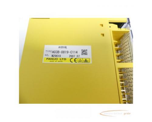 Fanuc A03B-0819-C114 Module AID16L No. N29619 - Bild 2