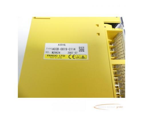 Fanuc A03B-0819-C114 Module AID16L No. N29624 - Bild 2