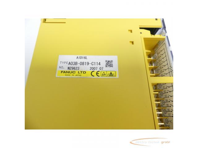 Fanuc A03B-0819-C114 Module AID16L No. N29623 - 2
