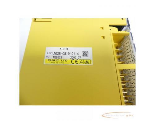 Fanuc A03B-0819-C114 Module AID16L No. N29623 - Bild 2