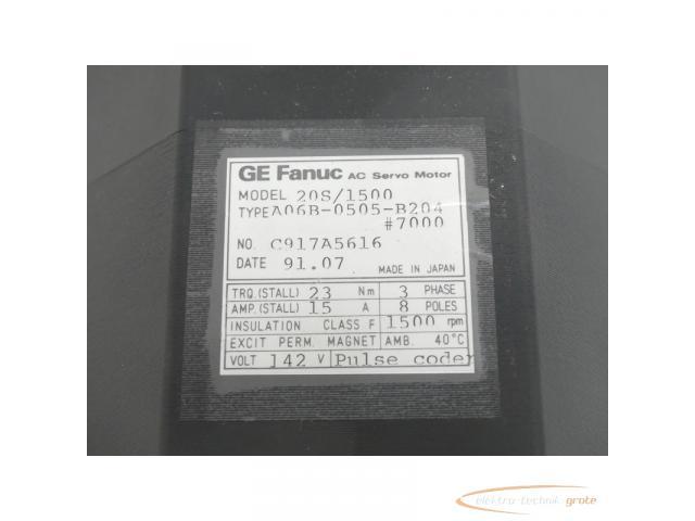 Fanuc A06B-0505-B204 # 7000 AC Servo Motor SN:C917A5616 - ungebraucht! - - 4