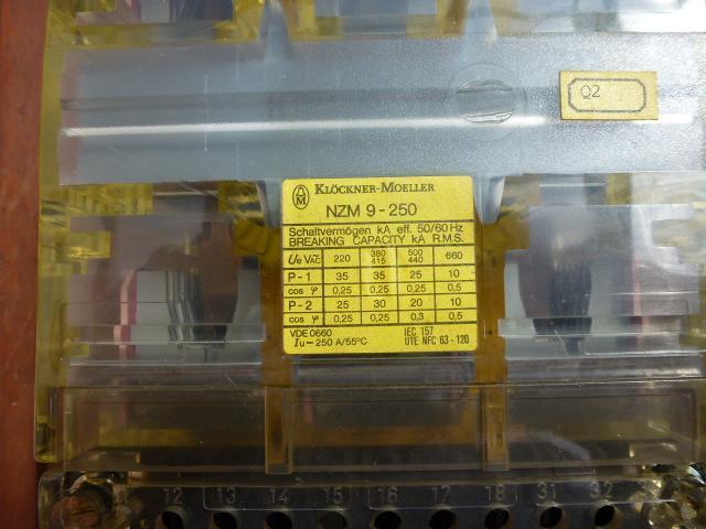 Leistungsschalter Lasttrennschalter NZM 9-250 mit Thermoelement ZM 9-250 - 3