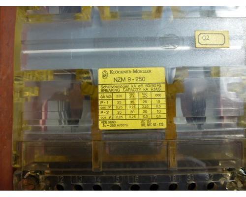 Leistungsschalter Lasttrennschalter NZM 9-250 mit Thermoelement ZM 9-250 - Bild 3