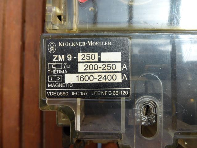 Leistungsschalter Lasttrennschalter NZM 9-250 mit Thermoelement ZM 9-250 - 4