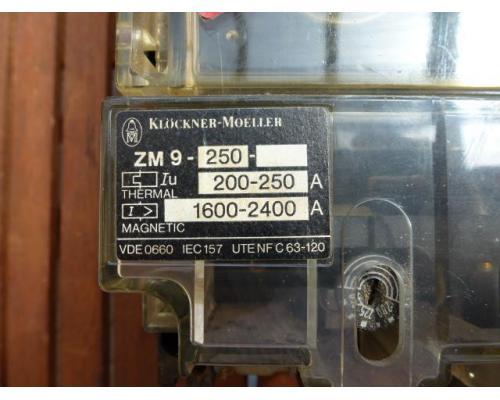 Leistungsschalter Lasttrennschalter NZM 9-250 mit Thermoelement ZM 9-250 - Bild 4