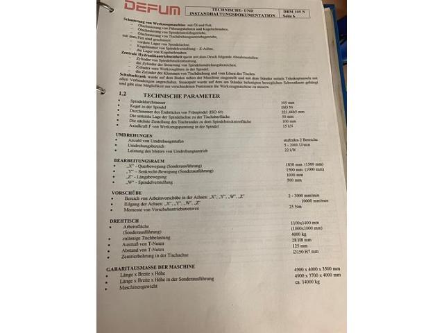DEFUM DBM 105N CNC Tischbohrwerk mit Heidenhain - 5