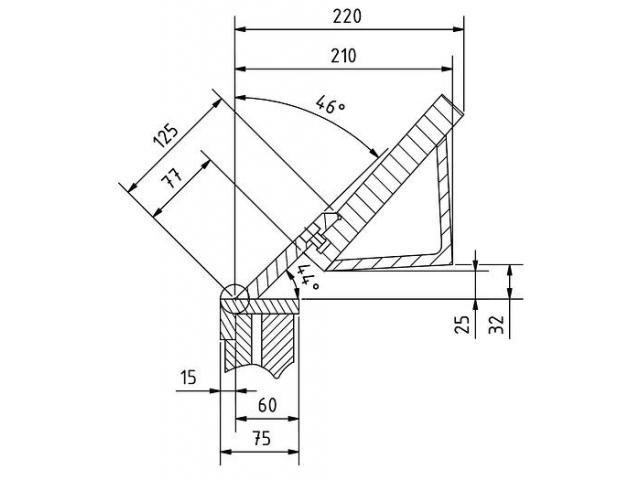 Metallkraft FSBM 1270-20E manuelle Schwenkbiegemaschine - 2