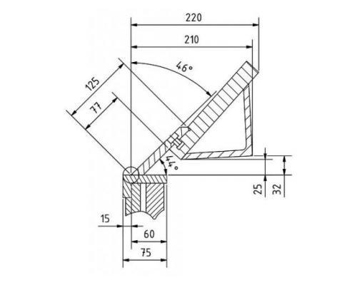 Metallkraft FSBM 1270-20E manuelle Schwenkbiegemaschine - Bild 2