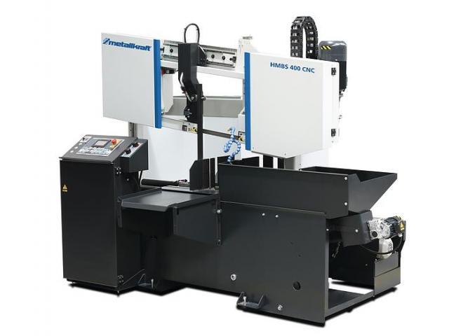 Metallkraft HMBS400 CNC 2-Säulen Metallbandsäge Vollautomat - 2