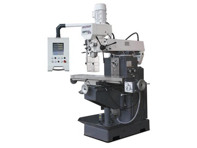 Optimum OPTImill MT60 Universalfräsmaschine mit Digitalanzeige - 1