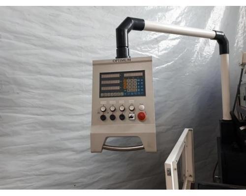 Optimum OPTImill MX4 konventionelle Universal Werkzeugfräsmaschine ungebraucht - Bild 2