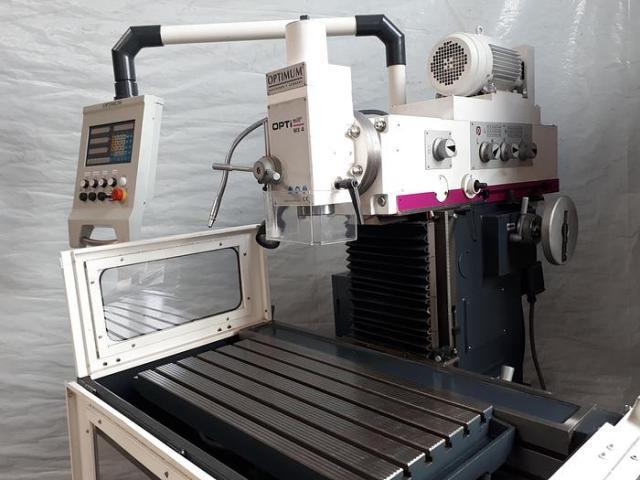 Optimum OPTImill MX4 konventionelle Universal Werkzeugfräsmaschine ungebraucht - 3