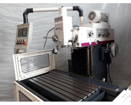 Optimum OPTImill MX4 konventionelle Universal Werkzeugfräsmaschine ungebraucht - Bild 3