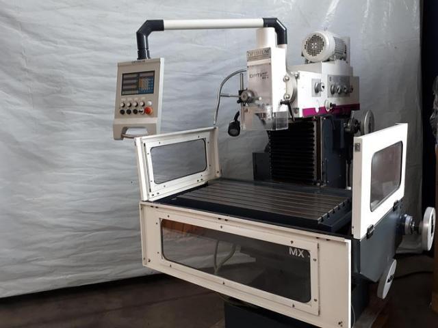 Optimum OPTImill MX4 konventionelle Universal Werkzeugfräsmaschine ungebraucht - 4